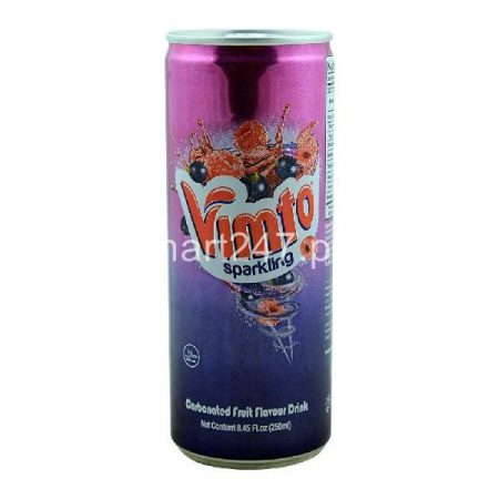 Vimto Sparking Carbonated Fruit Flavored Drink 345 ML