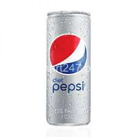 Pepsi Diet 250 ML Can