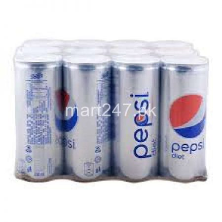 Pepsi Diet 250 ML X 12 Can
