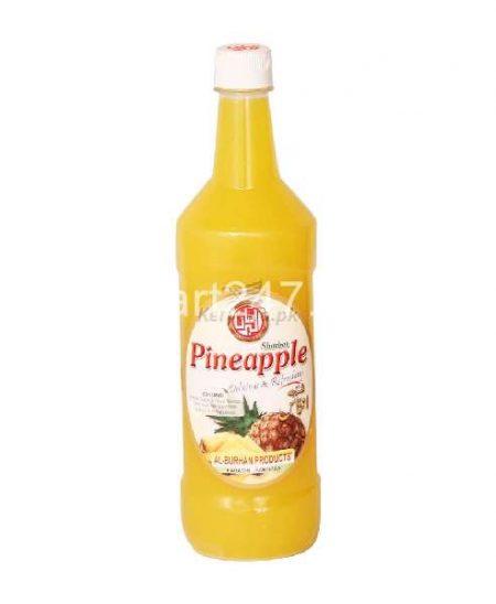 Al Burhan Sharbat 800 Ml Pineapple