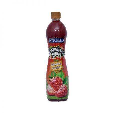 Mitchell's Squash 800 Ml Strawberry