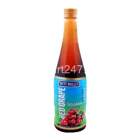 Mitchell's Squash 800 Ml Red Grapes