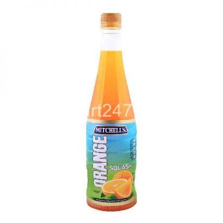 Mitchell's Squash 800 Ml Orange