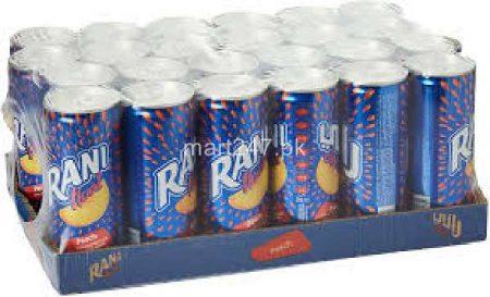 Rani Can 240 ML x 24 Peach