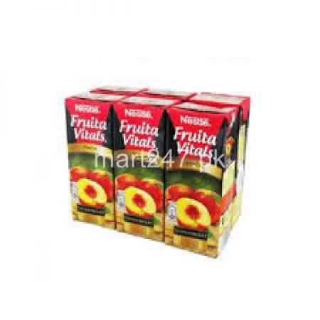 Nestle Fruita Vitals Peach 200 Ml X 12 Packs