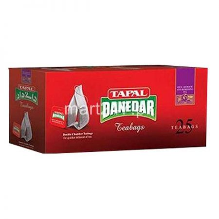 Tapal Danedar Black Tea Tea Bags 25 Packs