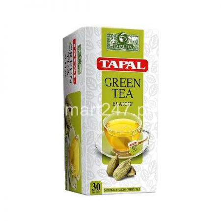 Tapal Green Tea Elaichi Tea Bags 30 Packs