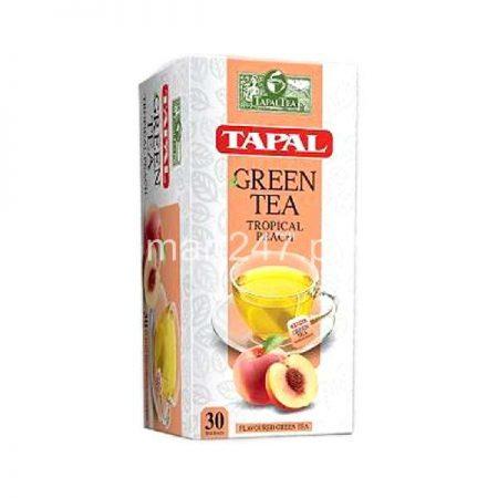 Tapal Green Tea Tropical Peach Tea Bags 30 Packs