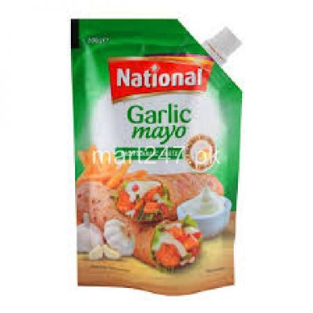 National Garlic Mayo Rich Garlic Taste 500 G