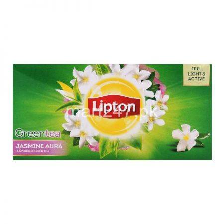 Unilever Lipton GREEN TEA bags Jasmine Aura 25 Packs