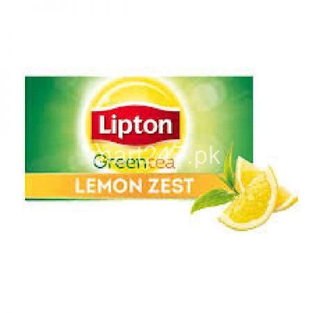Unilever Lipton GREEN TEA bags Lemon Zest 25 Packs