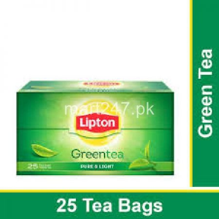 Unilever Lipton GREEN TEA bags Pure & Light 25 Packs