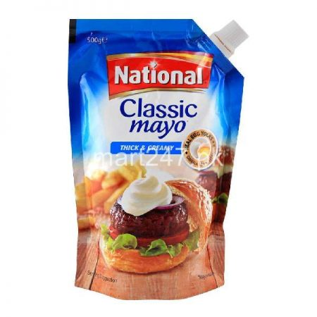 National Classic Mayo Thick & Creamy 1 Kg