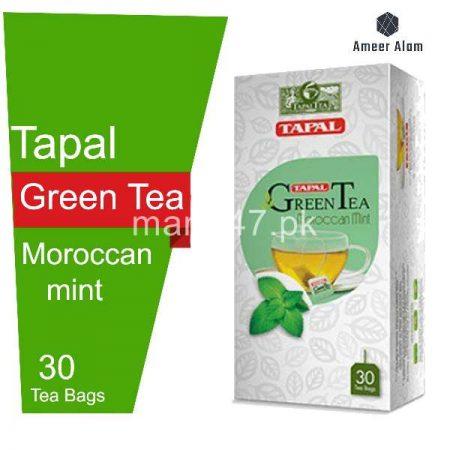 Tapal Green Tea Bags 30 Tea Bags Moroccan Mint