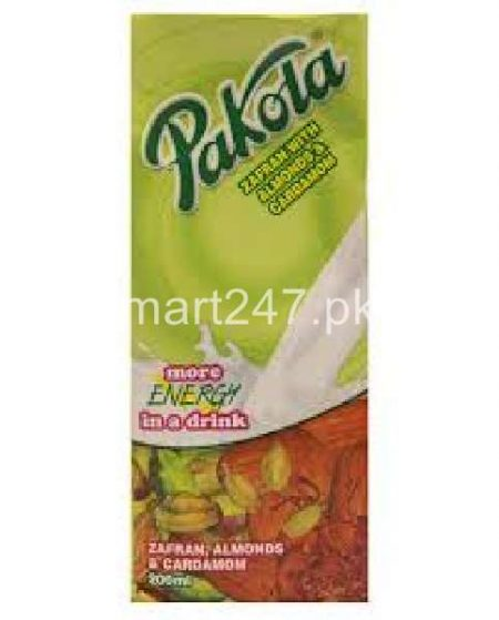 Pakola Flavored Milk 200 ML Zaffran Almond & cardamom