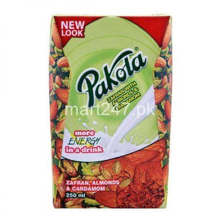 Pakola Flavored Milk 250 ML Zaffran Almond & cardamom New Look