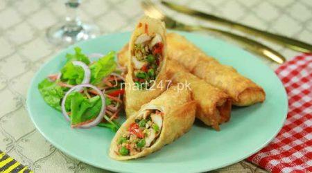 Chicken Vegetable Roll