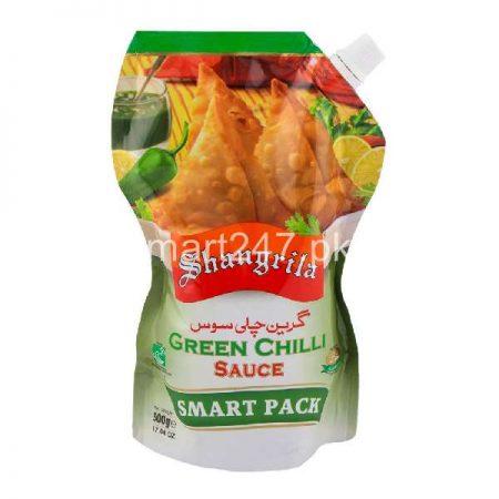 Shangrila Green Chili Sauce 500 Grams