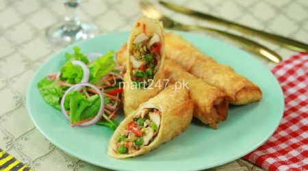 Chicken Vegetable Roll (6 Pcs)