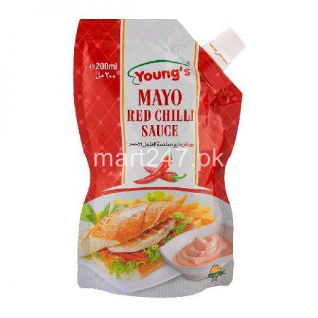 Youngs Mayo Red Chili 500 Ml Free Mayo Chup 200 Ml