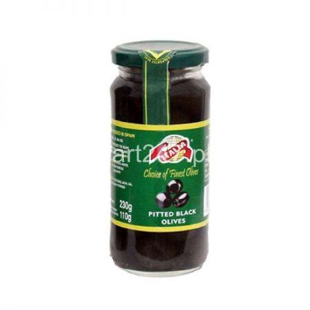 Italia Pitted Black Olives 230 G