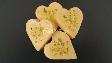 Barfi Heart Shape 250 Grams