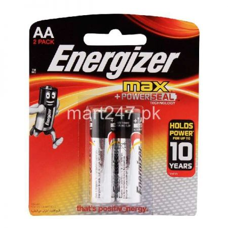 Energizer AA Battery 2 Pack