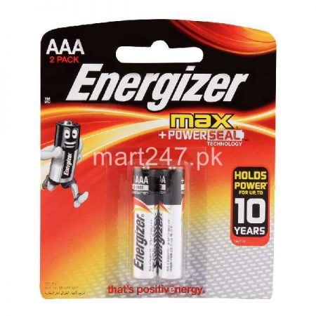 Energizer AAA Battery 2 Pack