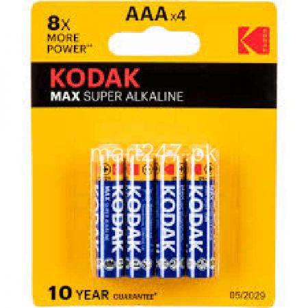 Kodak Max Alkaline Battery AAA x 4