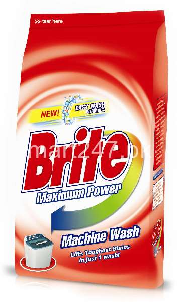 Brite Washing Powder Machine Wash 500 G