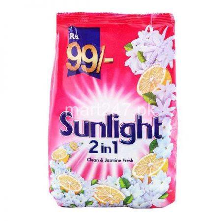 Sunlight 2 In 1 Clean & Jasmine Fresh Washing Powder 850 G