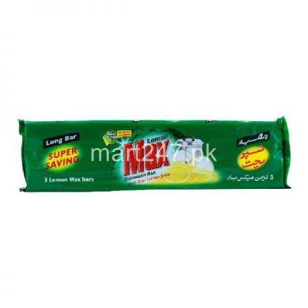 Lemon Max Dishwashing Long Bar (Bachat Pack)