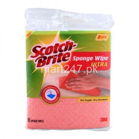 Scotch Brite Sponge Wipe Ultra 3 Pack