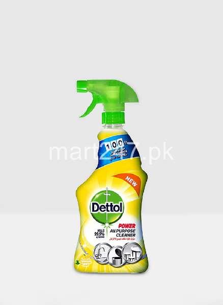 Dettol All Purpose Cleaner Trigger Lemon 500 Ml