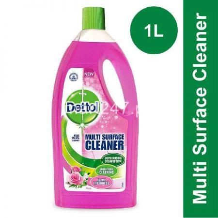 Bundle of 3 Dettol Multi Surface Cleaner Rose 1 L