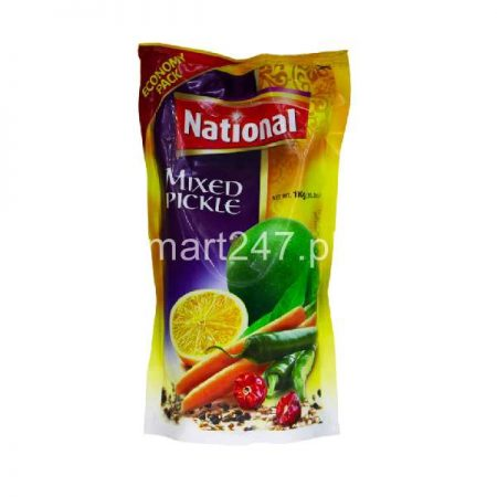 National Mixed Pickle In Oil 180 G