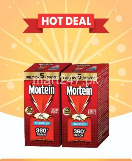 Mortein Refills pack of 2 Odourles 45 Ml