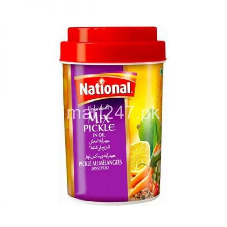 National Hyderabadi Mix Pickle 400 G