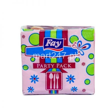 Fay International Pink Tissues 100 X 2 Ply