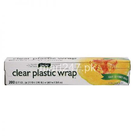 Clear Plastic Wrap 66 Sqft