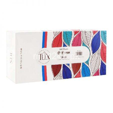 Tux Multicolor Tissue Box 150 X 2 Ply