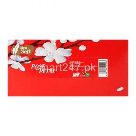 Ultra Soft Rose petal Range Tissue 1 box
