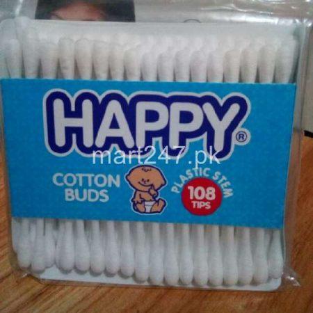 Happy Kinder Cotton Buds 100 Pieces