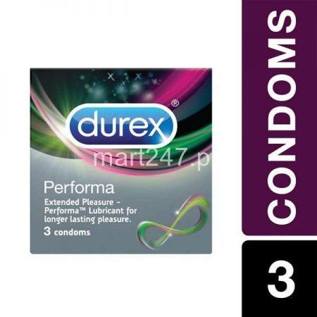 Durex 3S Performa condoms