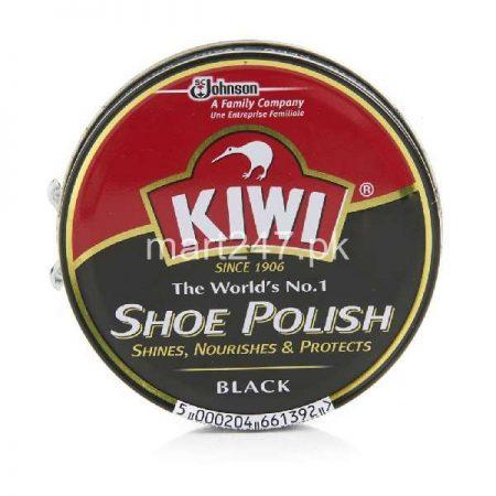 Kiwi Shoe Polish Black 20 Ml