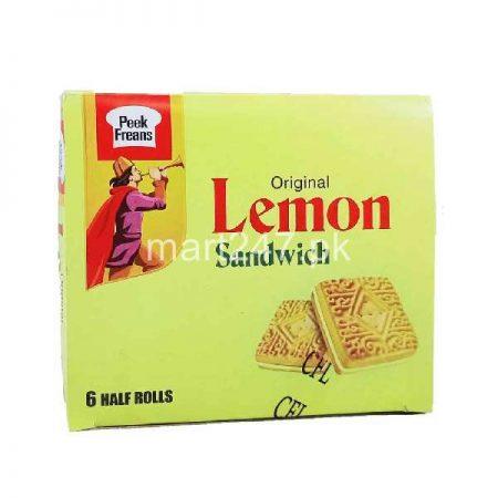 Peek Freans Lemon Sandwich 12 Snack Packs