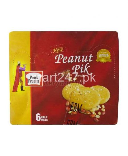 Peek Freans Peanut Pik 6 Half Rolls
