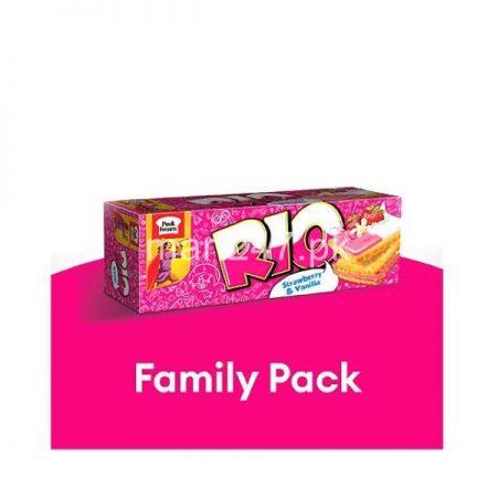 Peek Freans Rio Strawberry & Vanilla Family Pack