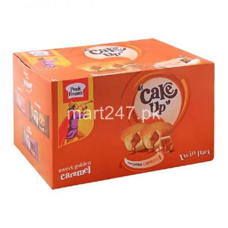 Peek Freans Cake Up Caramel 12 Pieces Box