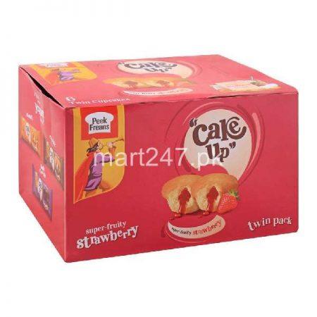 Peek Freans Cake Up Strawberry 12 Pieces Box